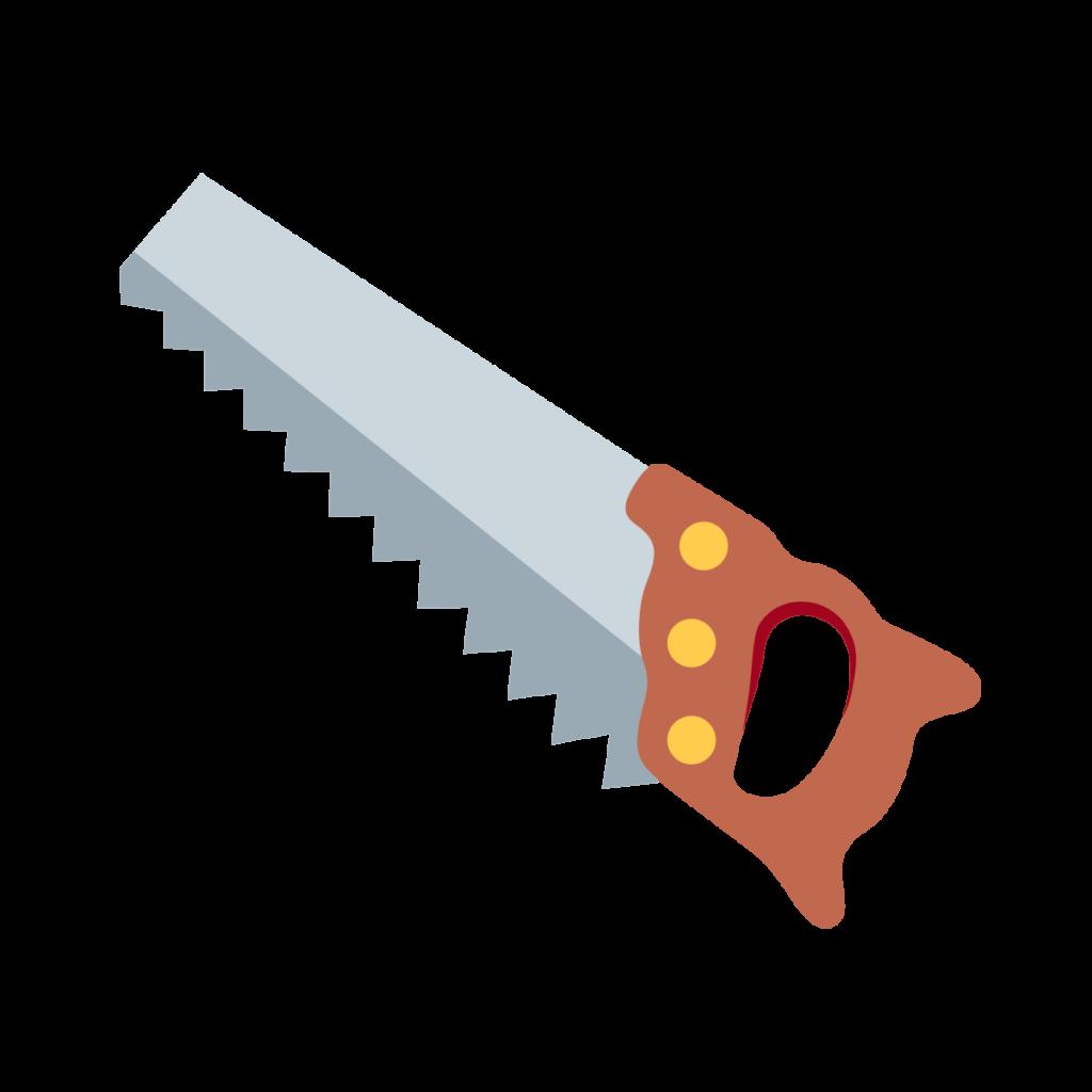 ⊛ Carpentry Saw Emoji