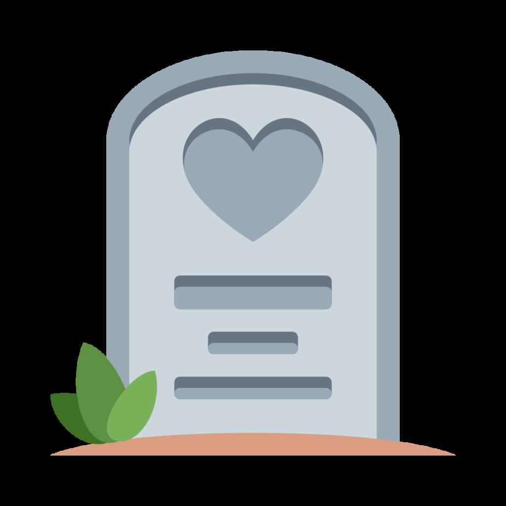 ⊛ Headstone Emoji