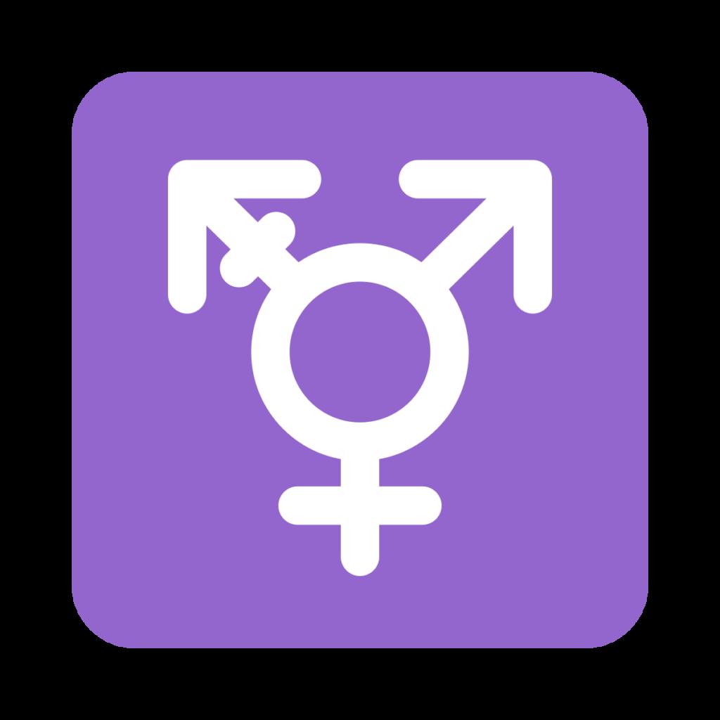 ⊛ Transgender Symbol Emoji