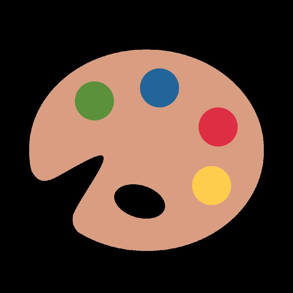 Artist Palette Emoji