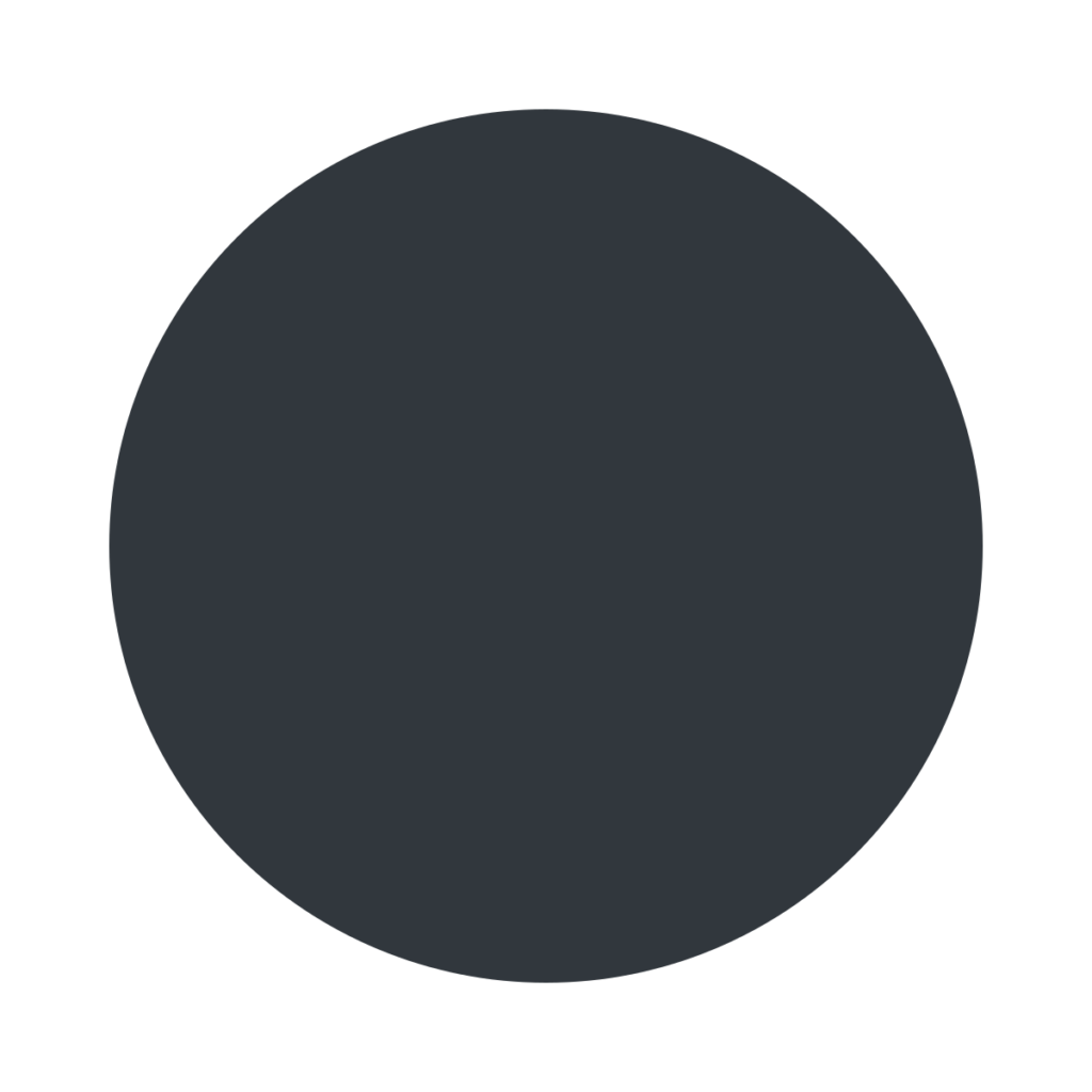 Black Circle Emoji