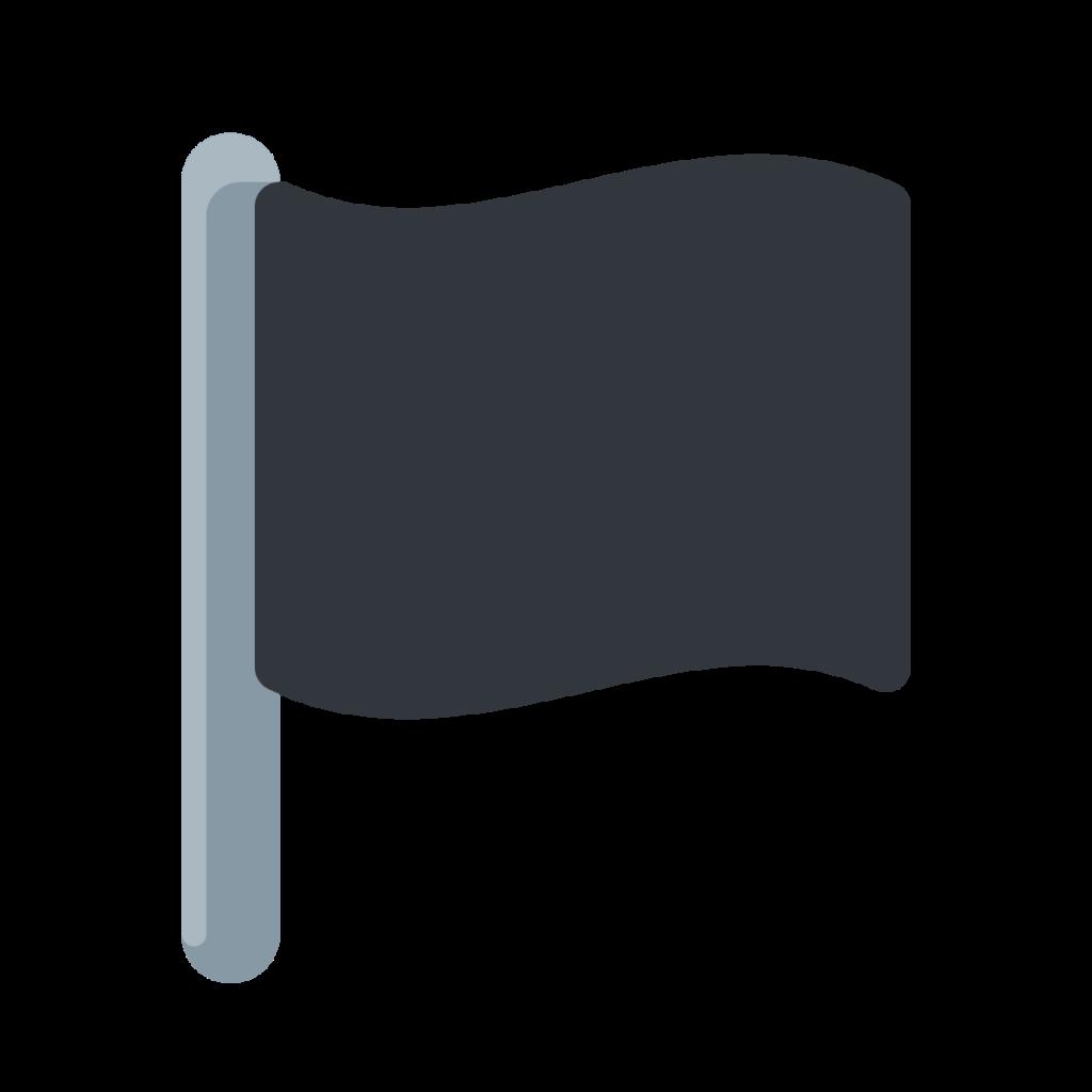 Black Flag Emoji