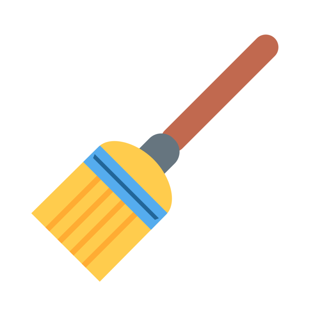 Broom Emoji