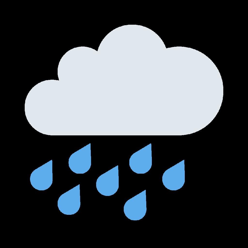 Cloud With Rain Emoji