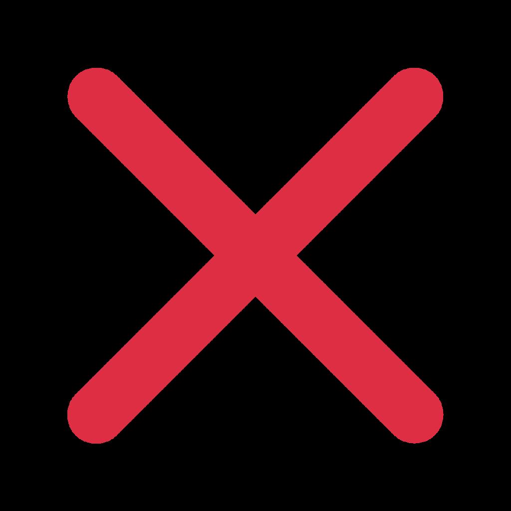 Cross Mark Emoji