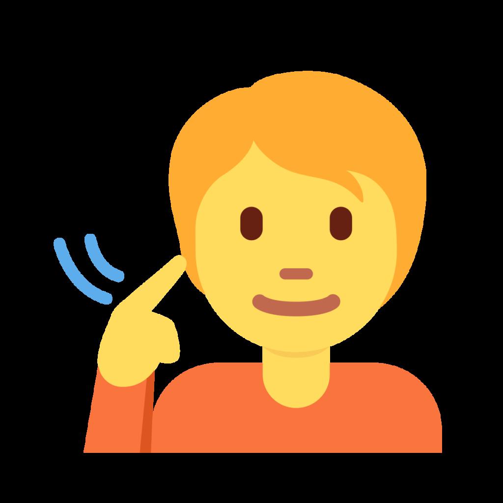 Deaf Person Emoji