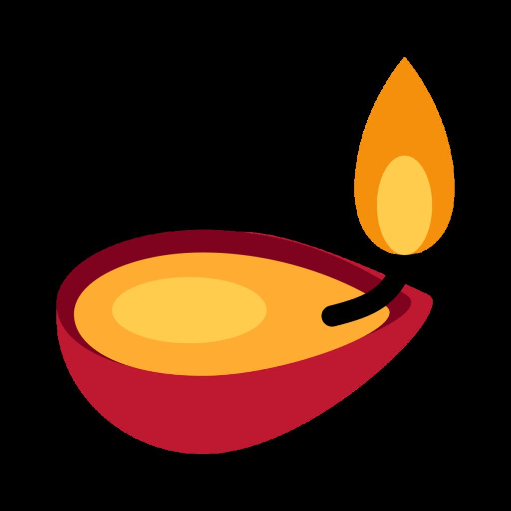 Diya Lamp Emoji