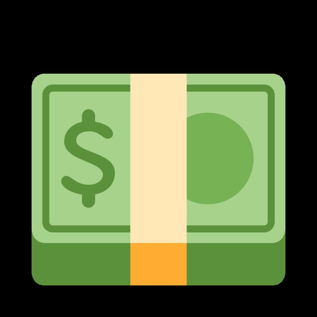 Dollar Banknote Emoji