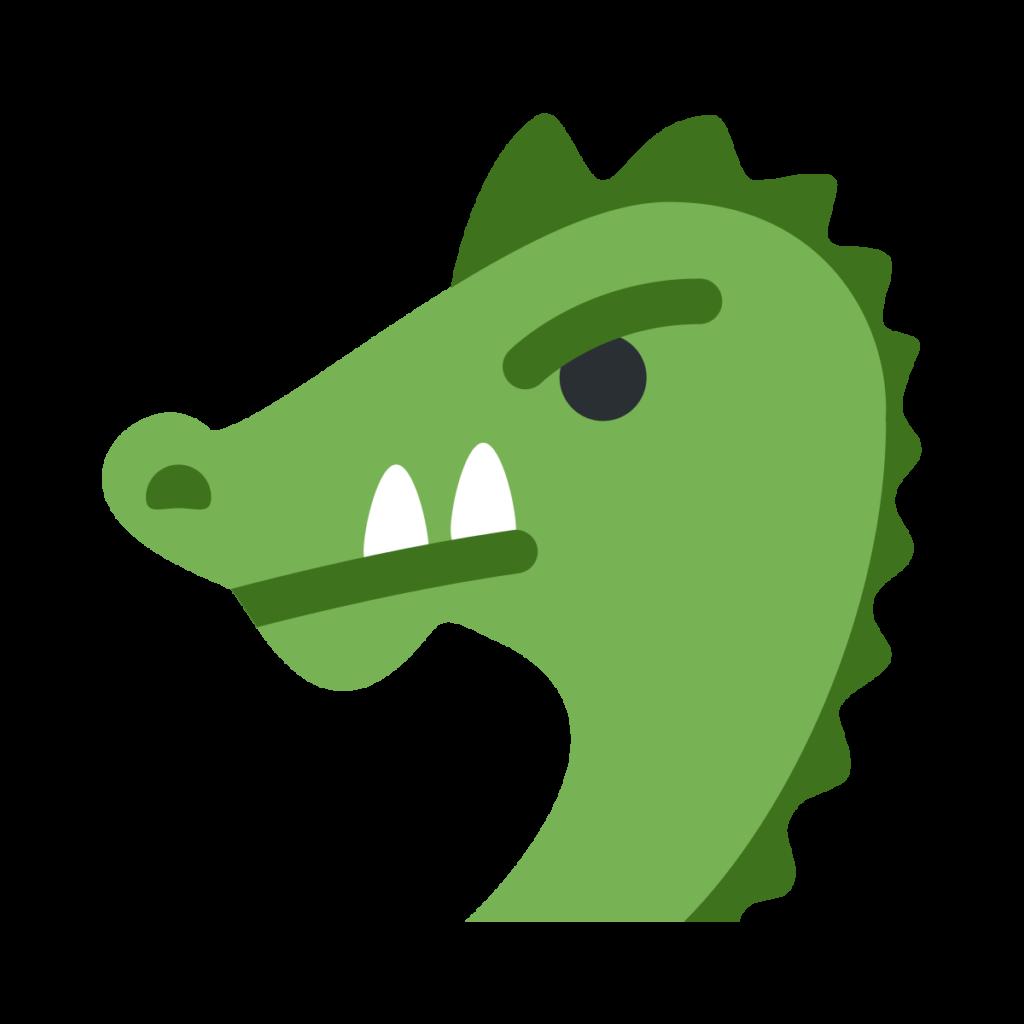 Dragon Face Emoji