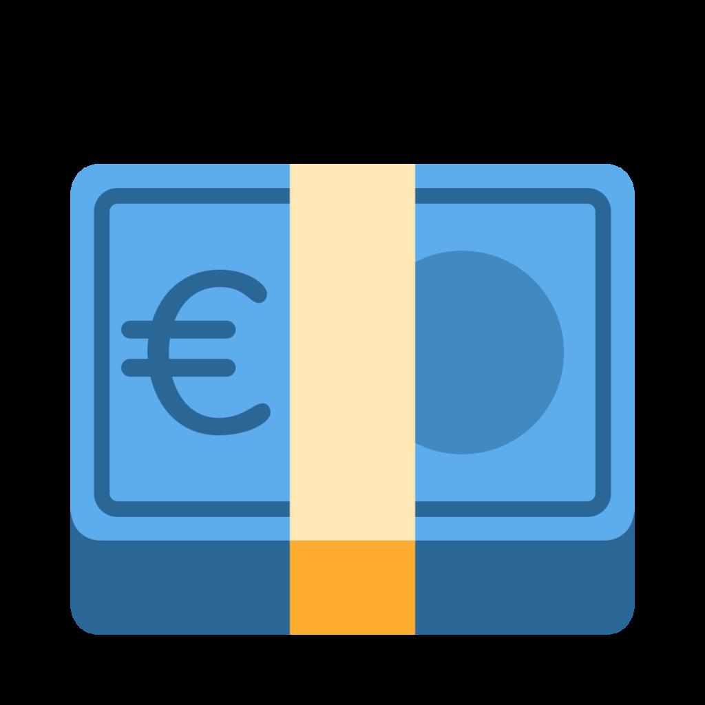 Euro Banknote Emoji
