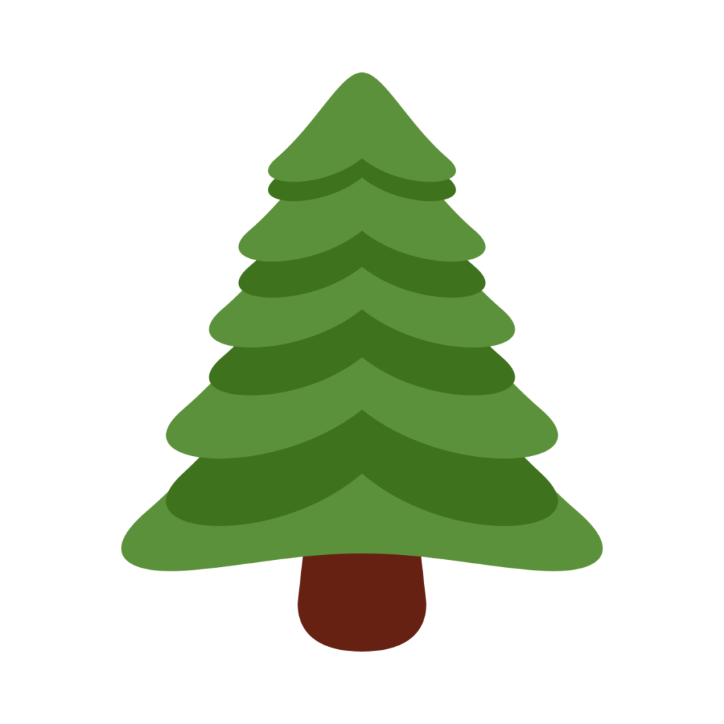 Evergreen Tree Emoji