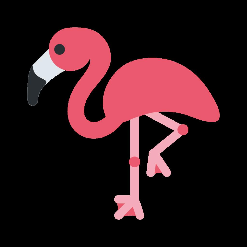 Flamingo Emoji