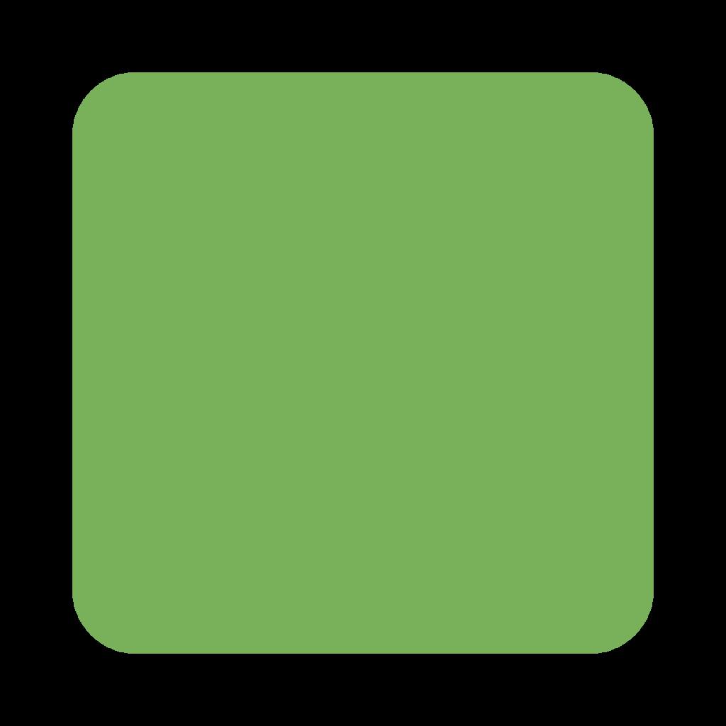 Green Square Emoji