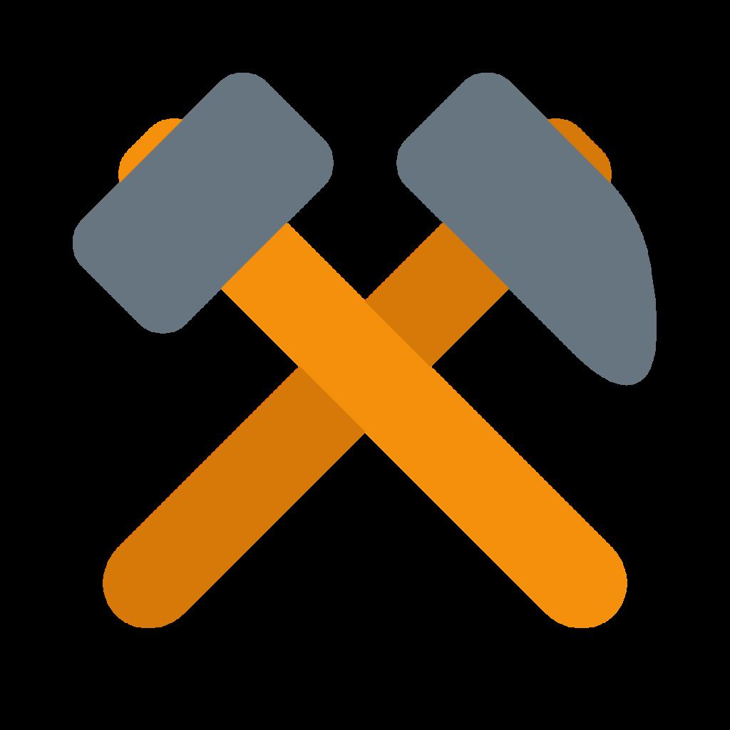 Hammer And Pick Emoji