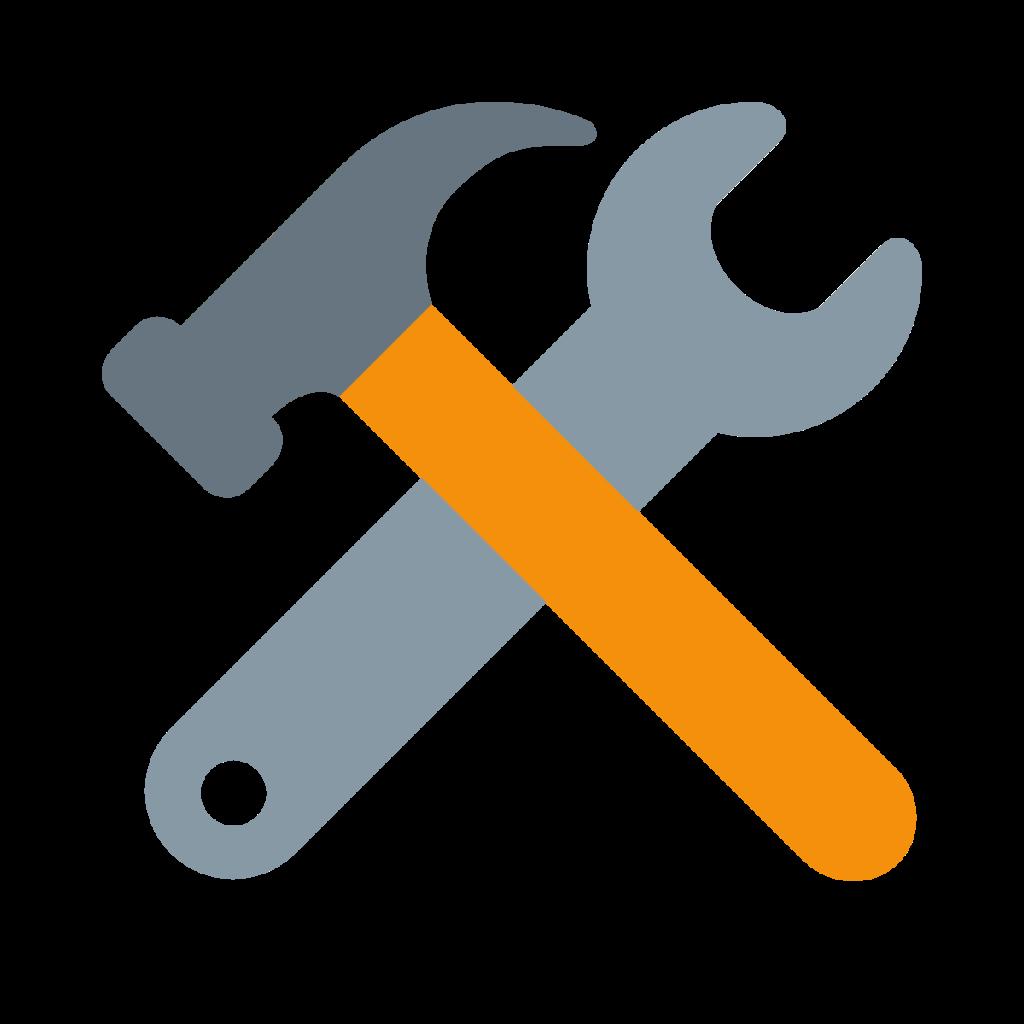 Hammer And Wrench Emoji