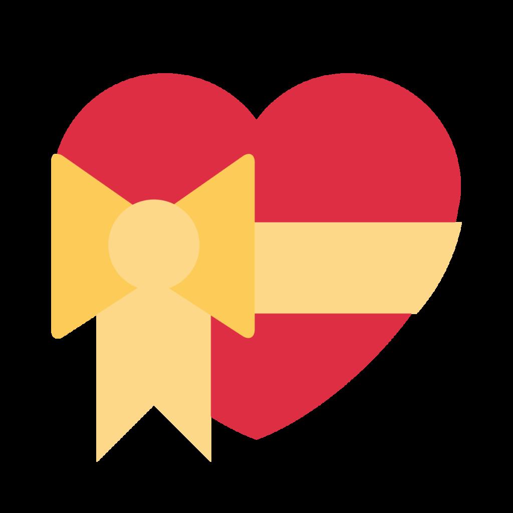 Heart With Ribbon Emoji