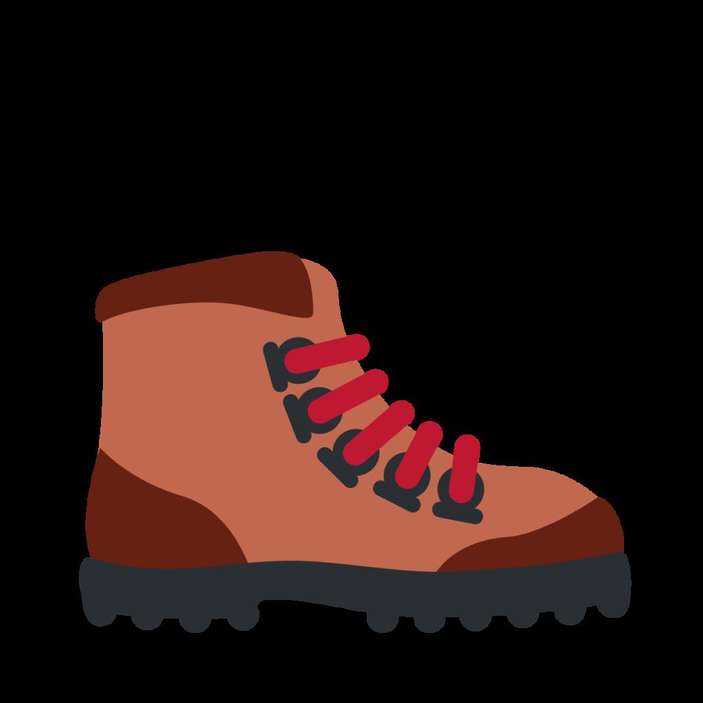 Hiking Boot Emoji