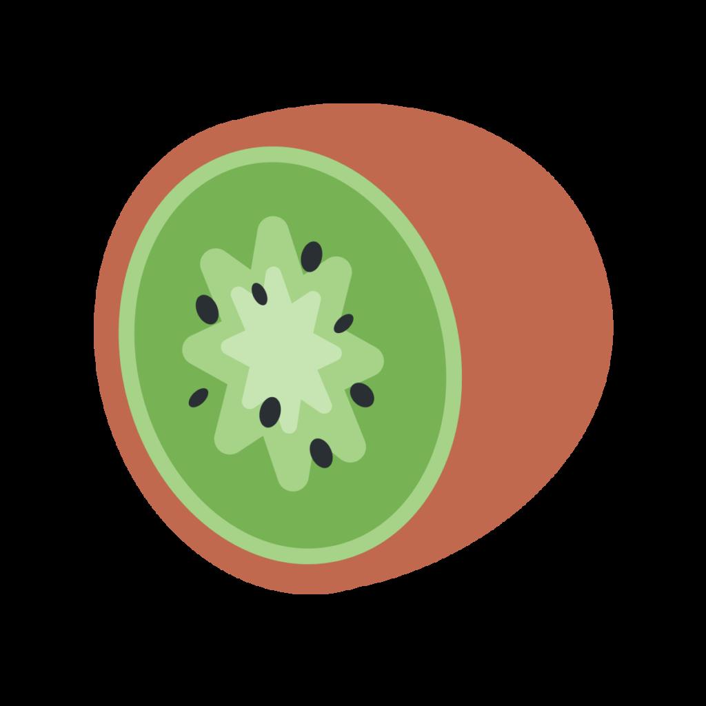 Kiwi Fruit Emoji
