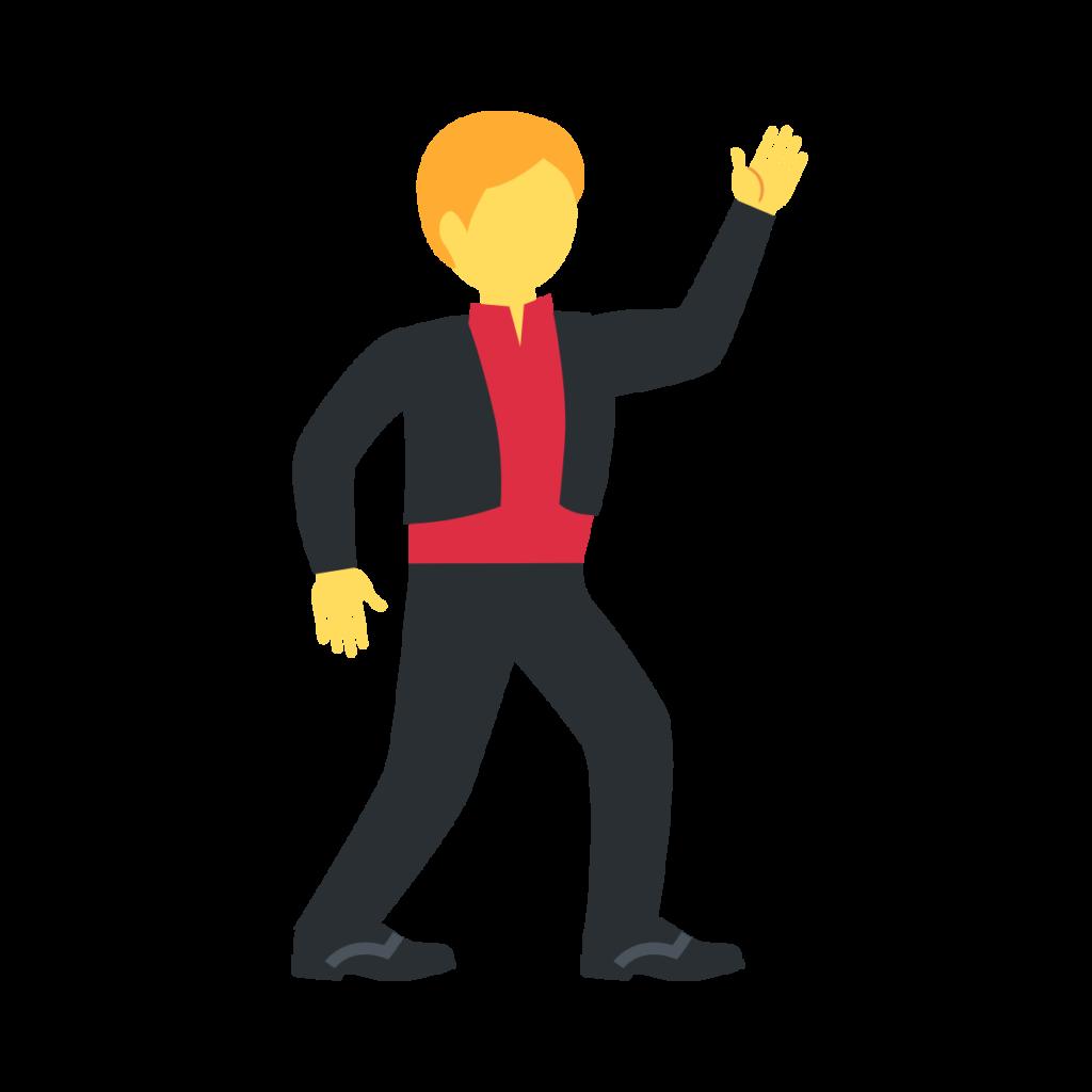 Man Dancing Emoji