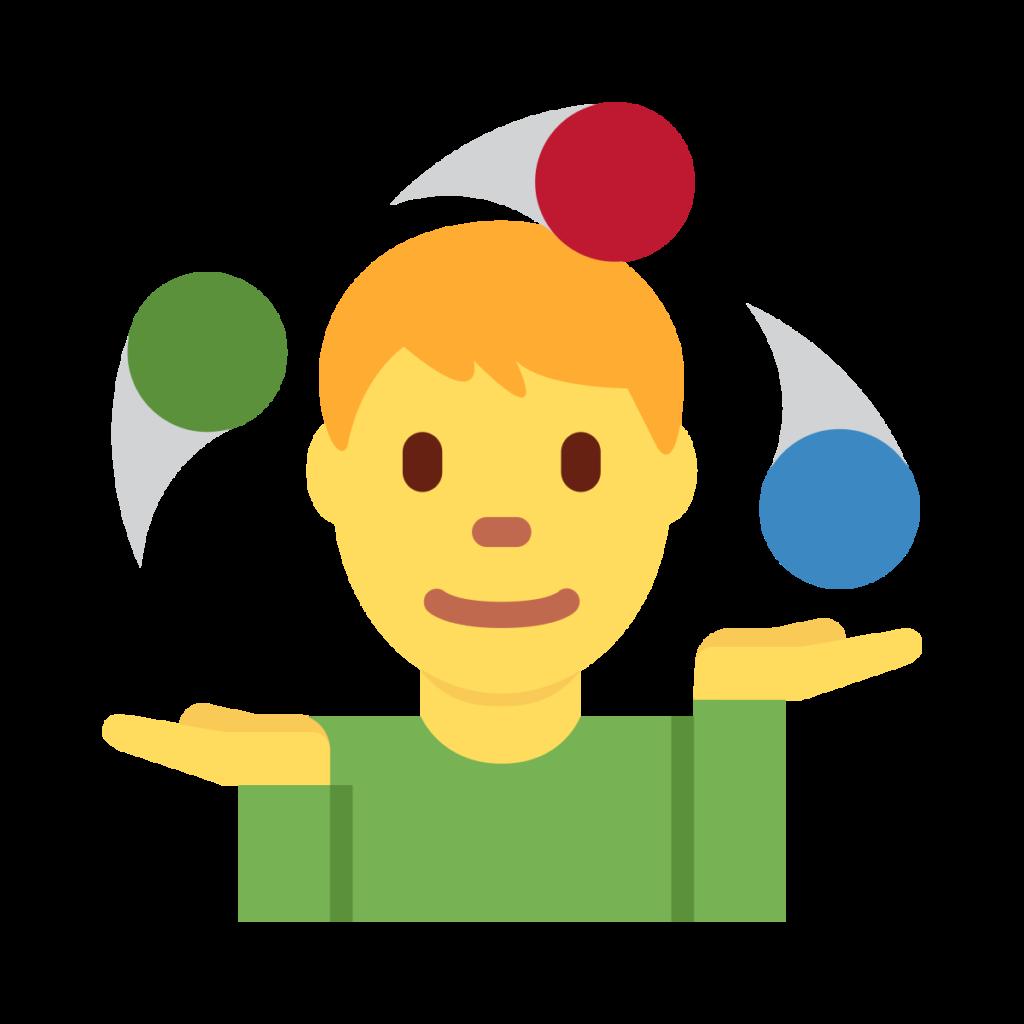 Man Juggling Emoji