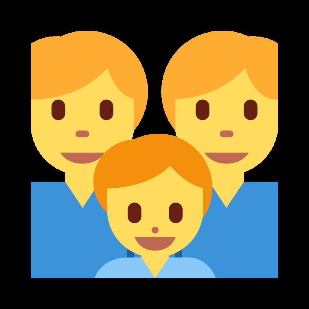 Man Man Boy Emoji