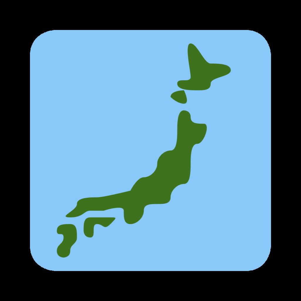 Map Of Japan Emoji