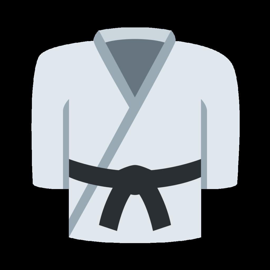 Martial Arts Uniform Emoji