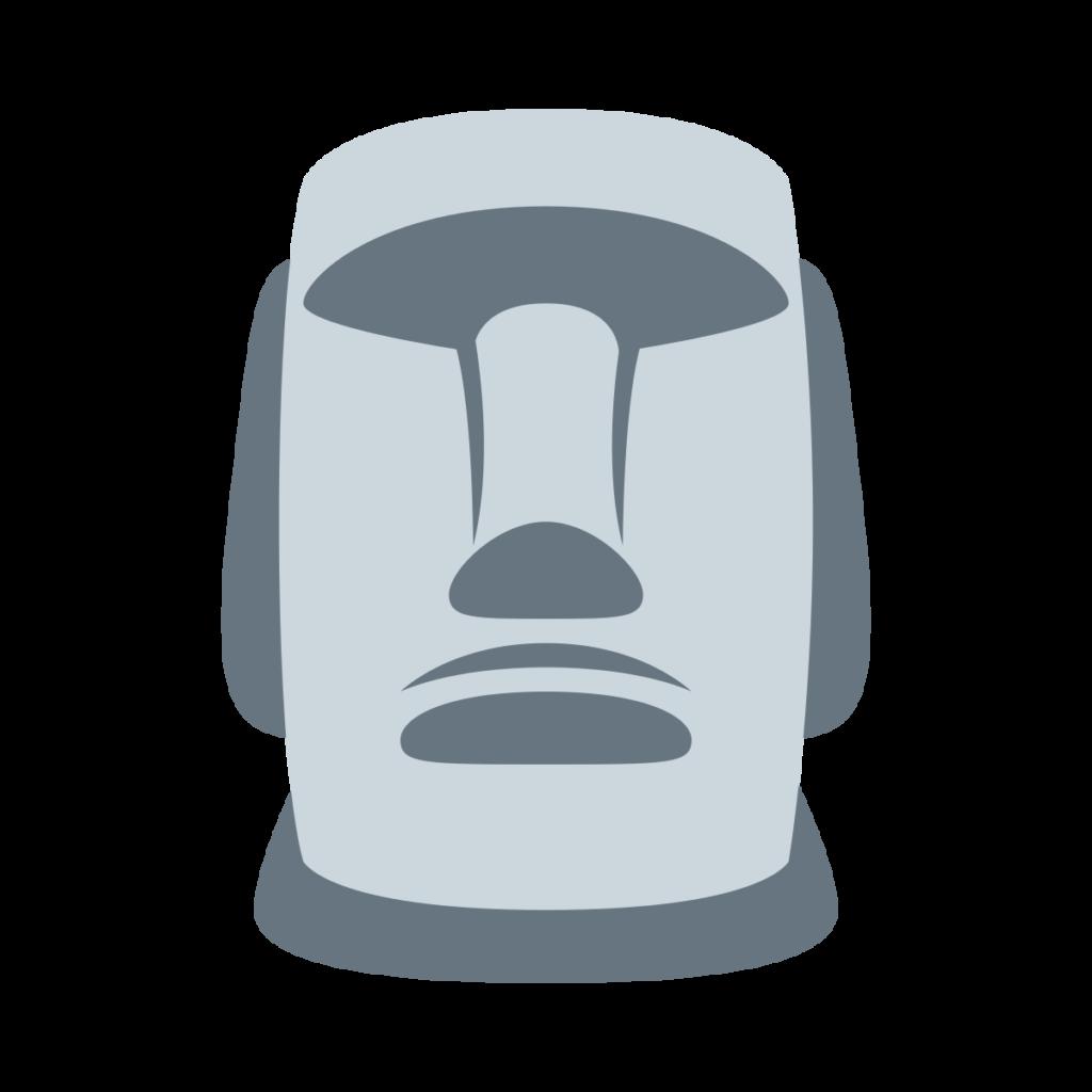 Moai Emoji