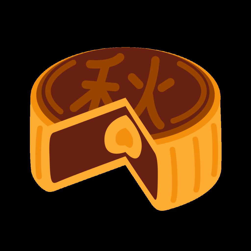 Moon Cake Emoji