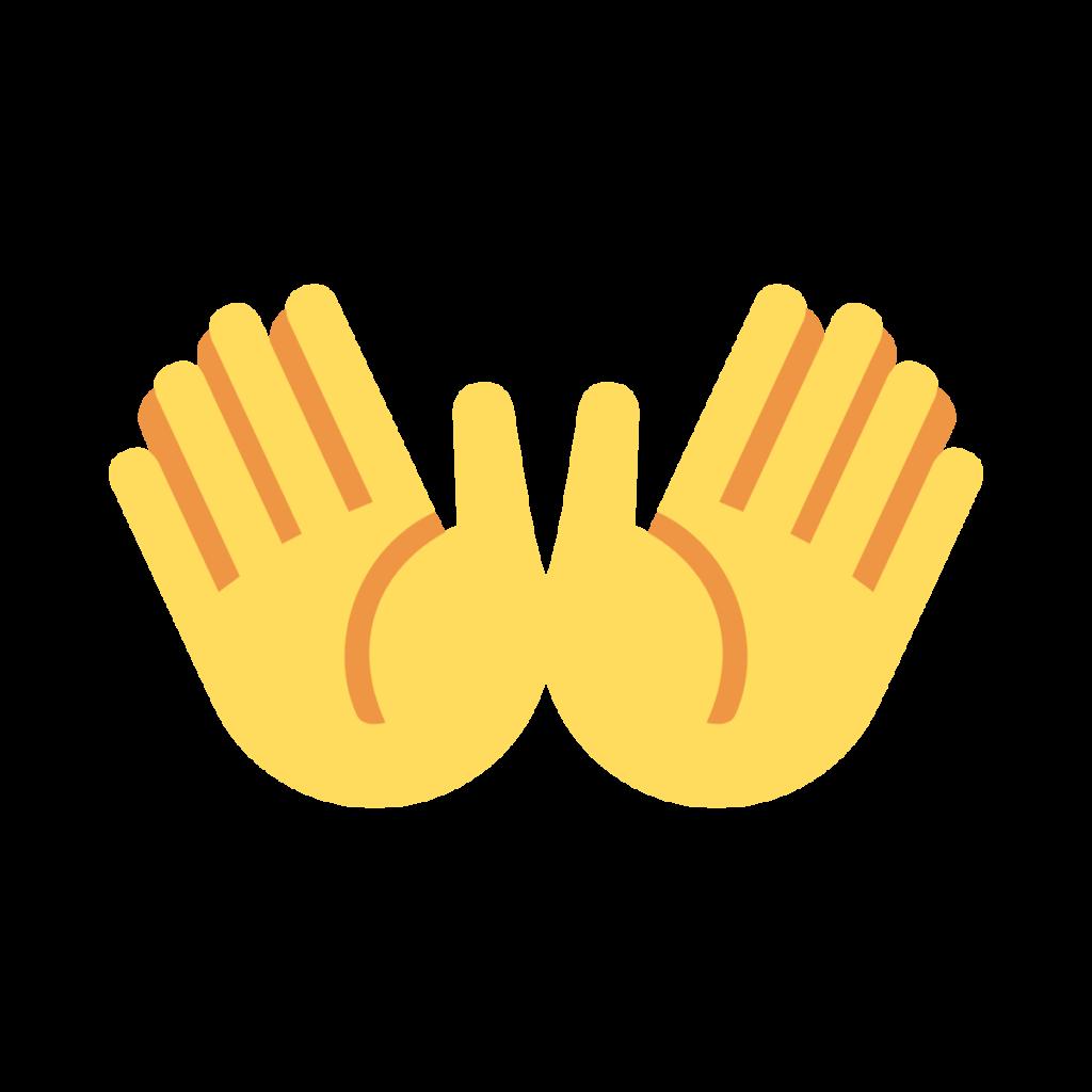 Open Hands Emoji