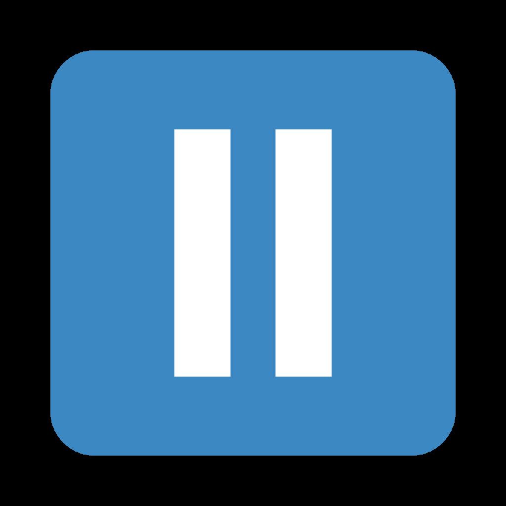 Pause Button Emoji
