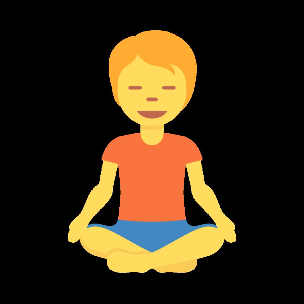 Person In Lotus Position Emoji