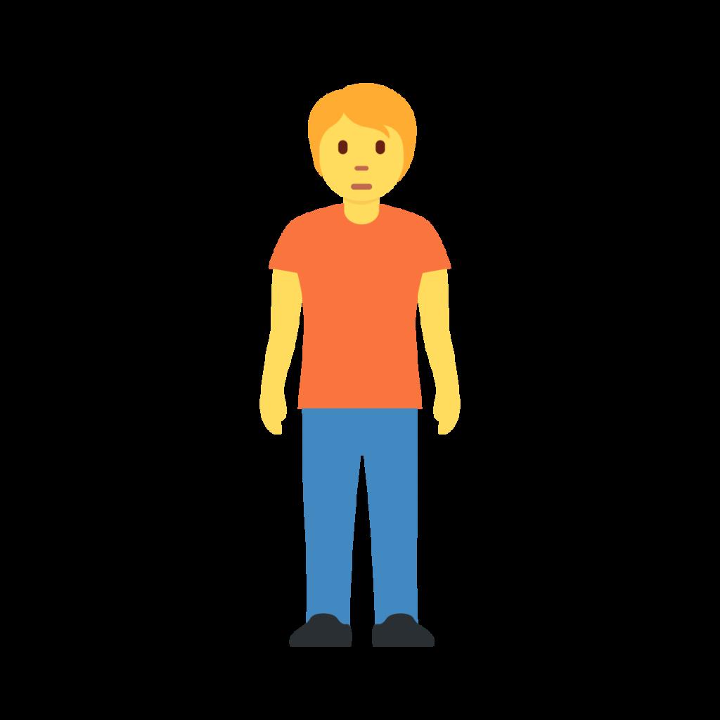 Person Standing Emoji