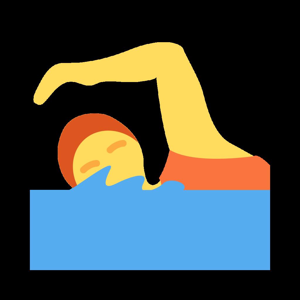 Person Swimming Emoji
