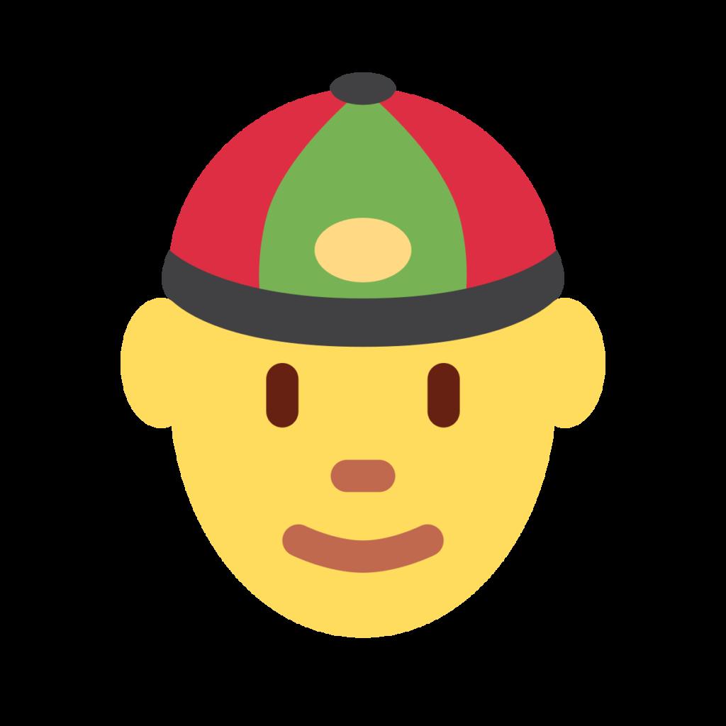 Person With Skullcap Emoji