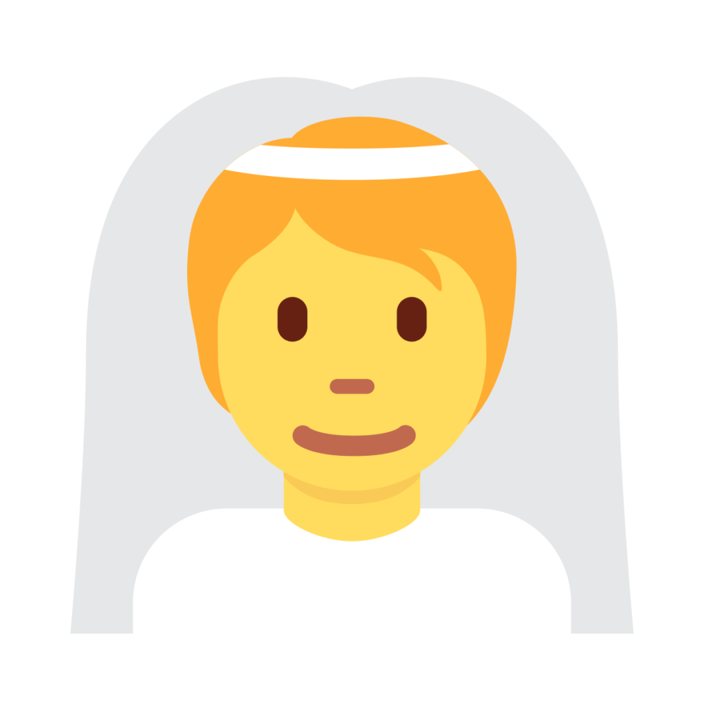 Person With Veil Emoji