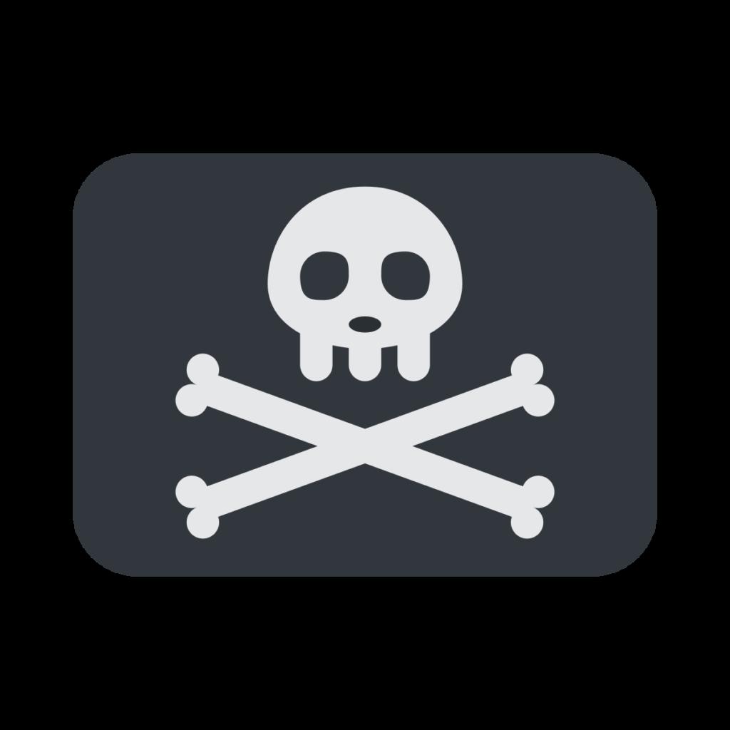 Pirate Flag Emoji