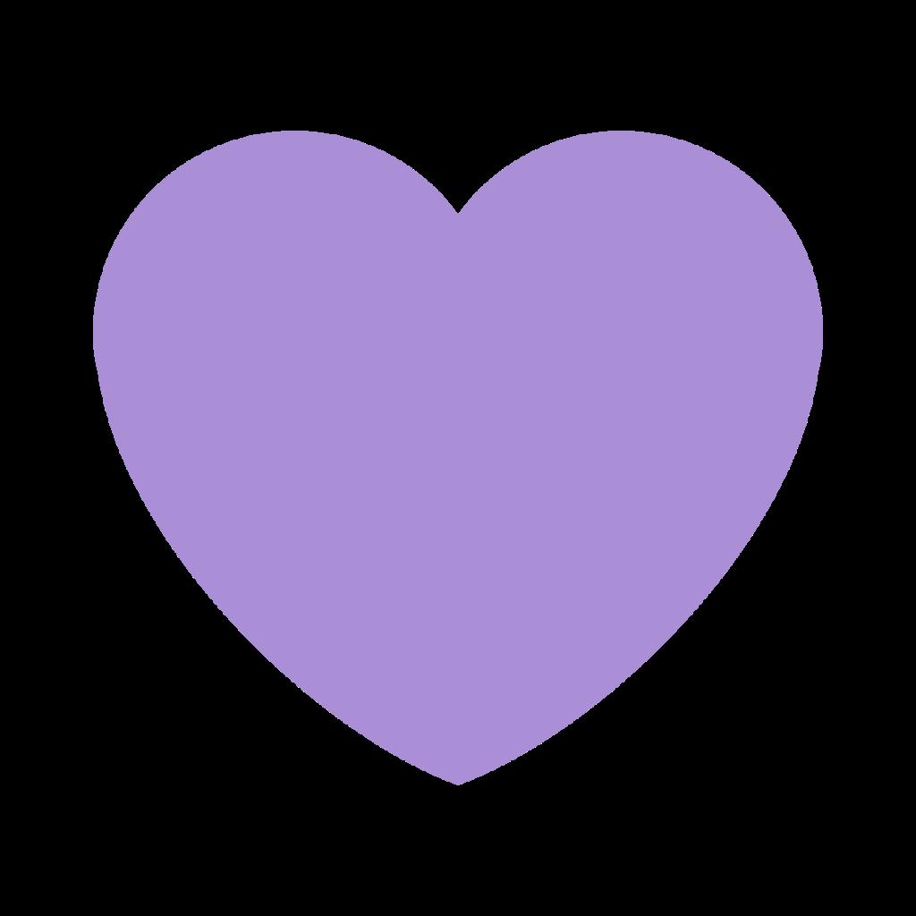 Purple Heart Emoji