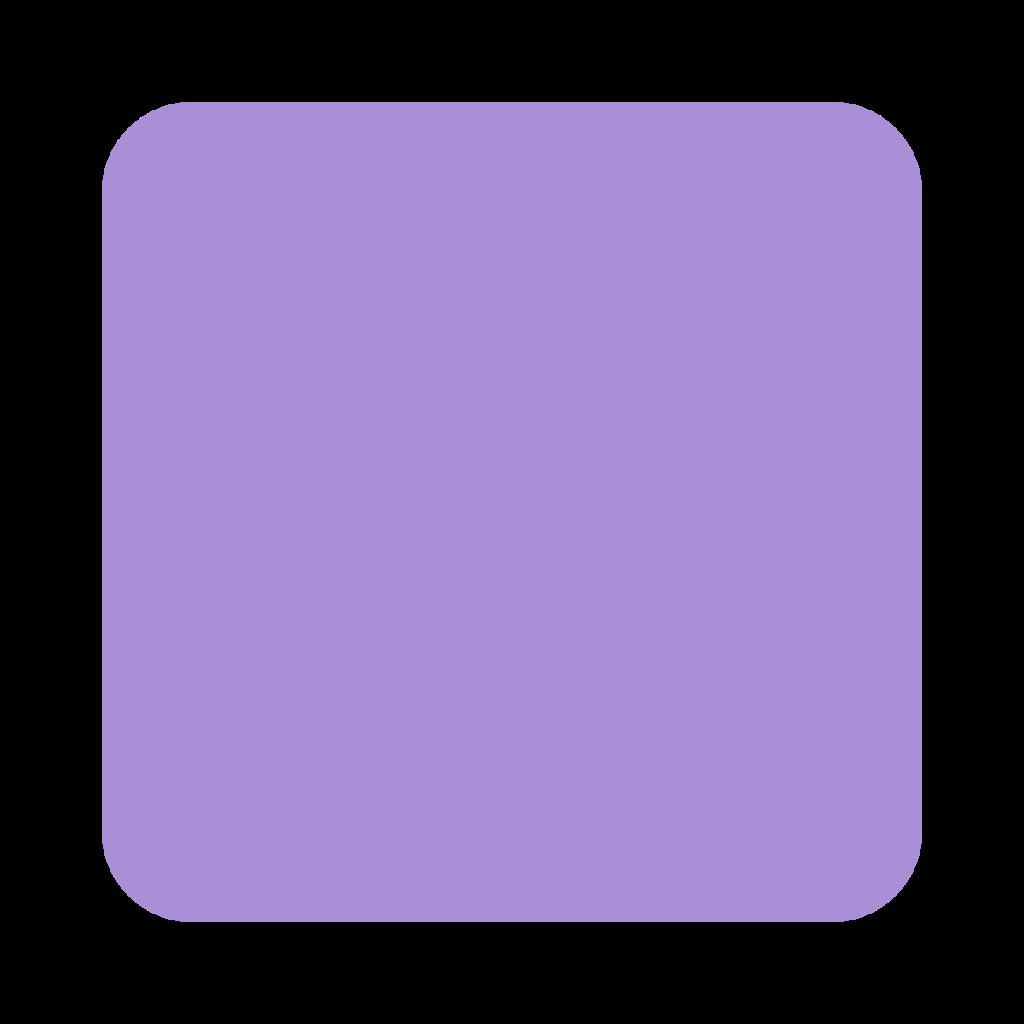 Purple Square Emoji