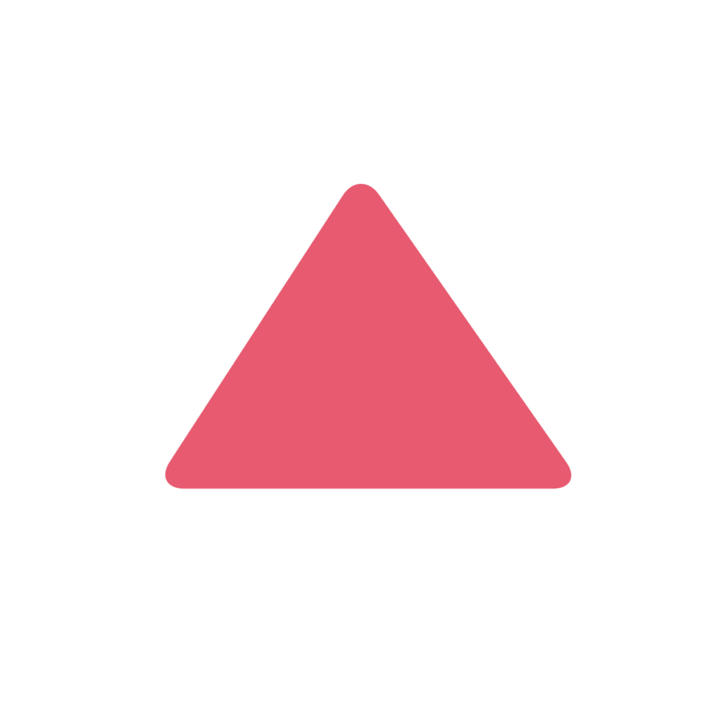 Red Triangle Pointed Up Emoji