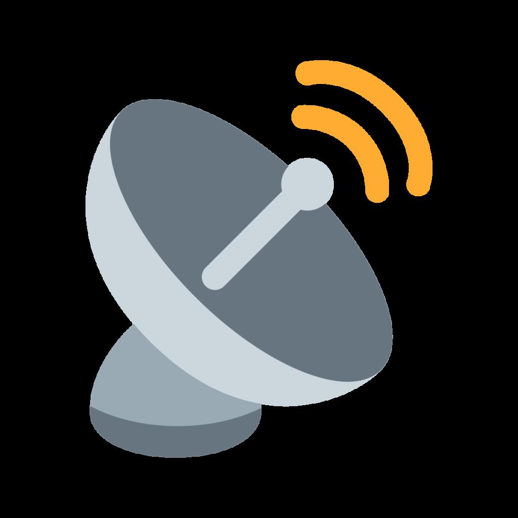 Satellite Antenna Emoji