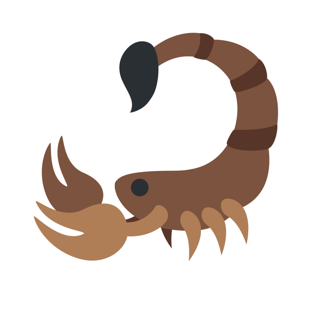 Scorpion Emoji