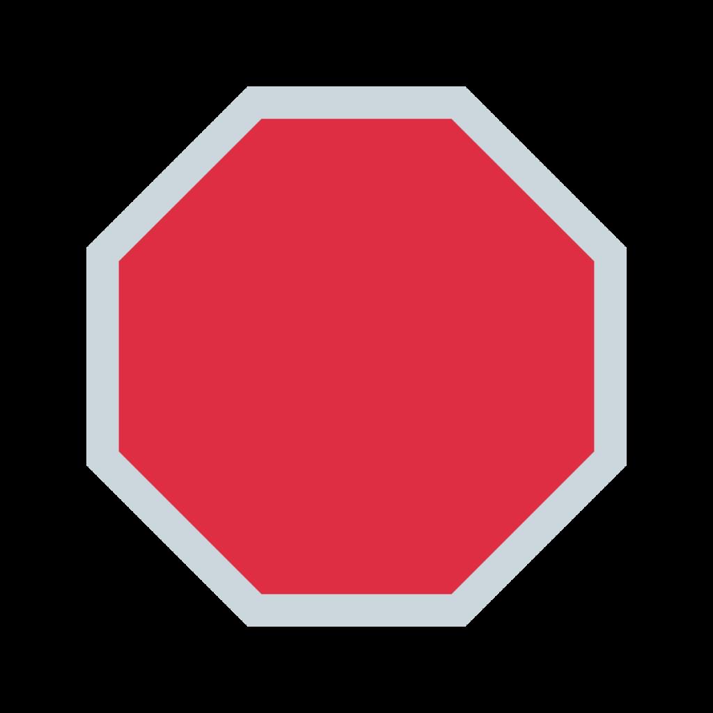 Stop Sign Emoji
