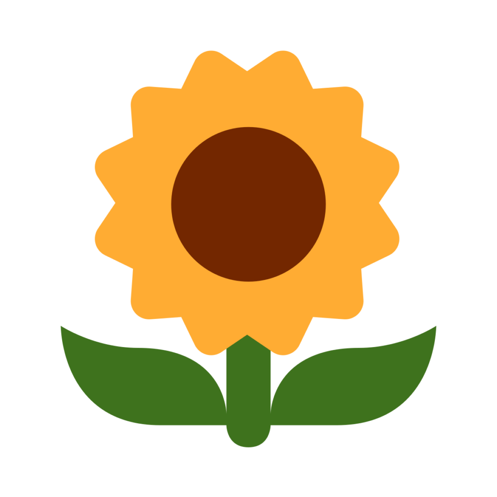 Sunflower Emoji
