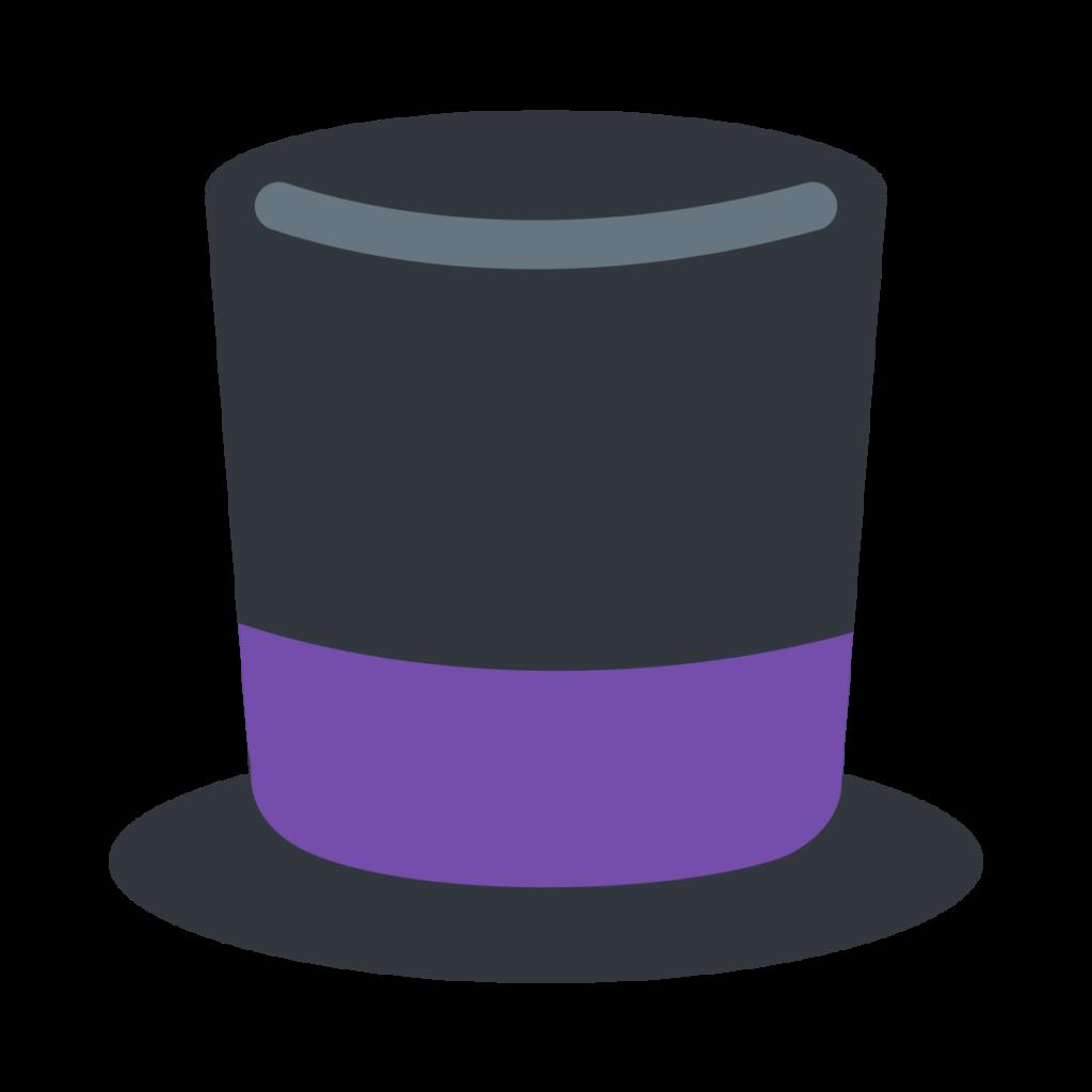 Top Hat Emoji