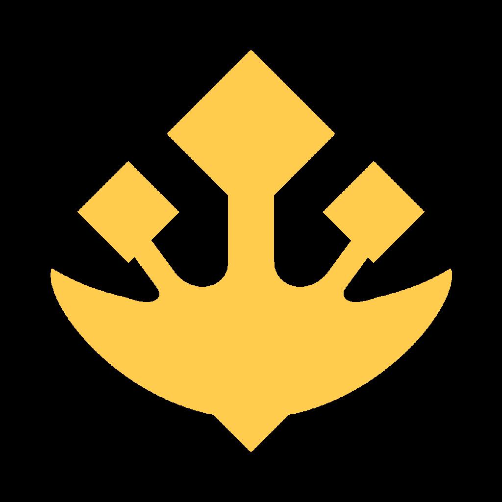 Trident Emblem Emoji
