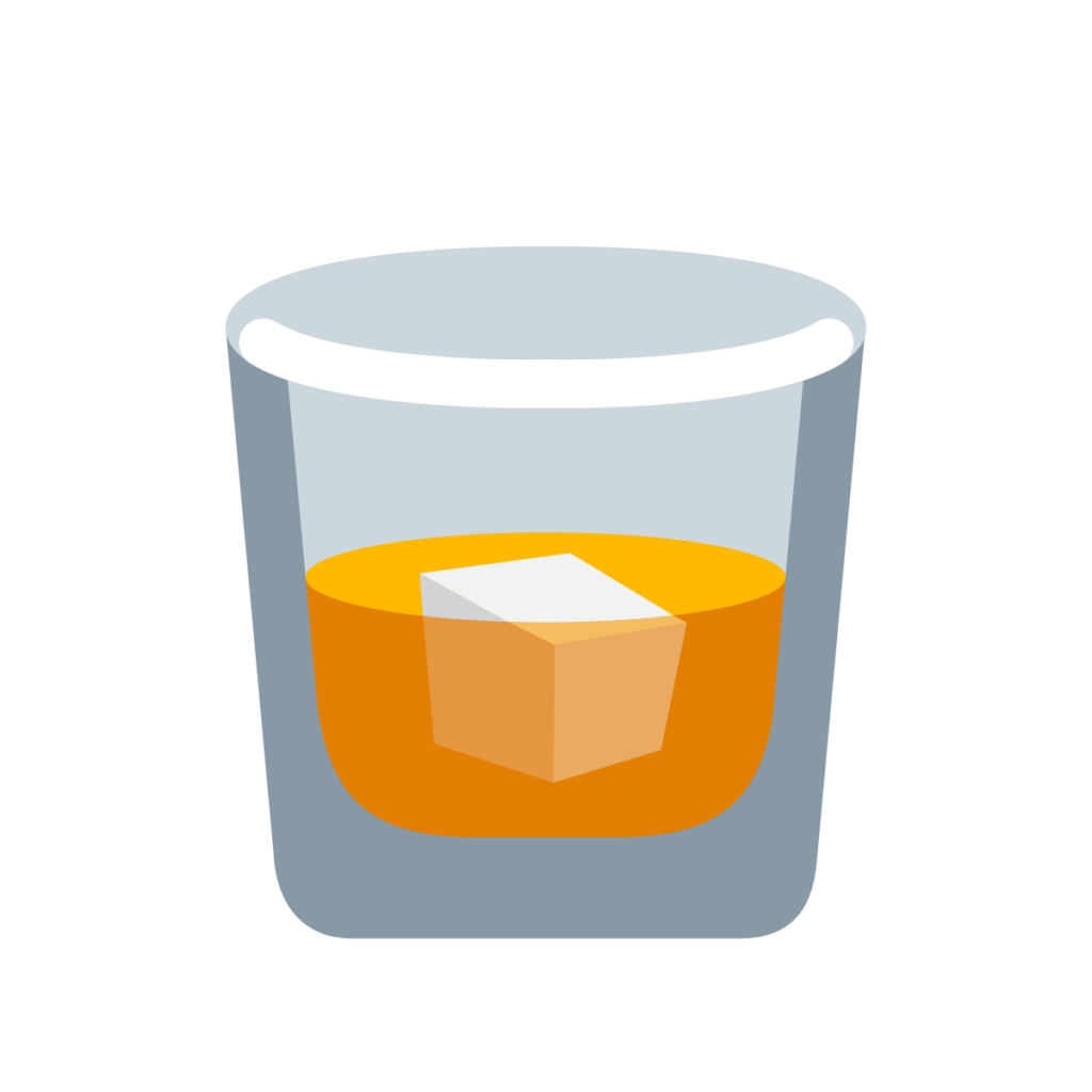 Tumbler Glass Emoji