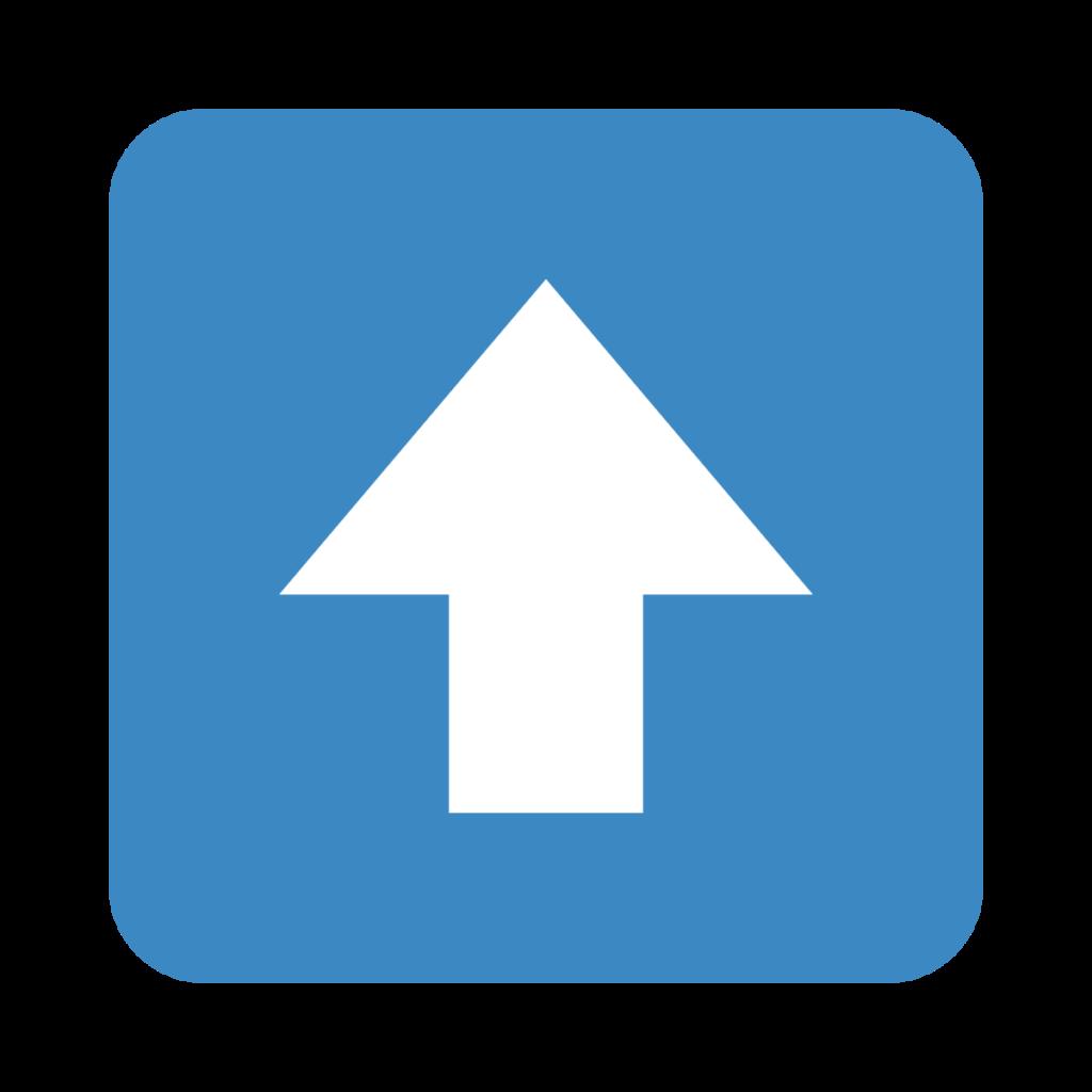Up Arrow Emoji