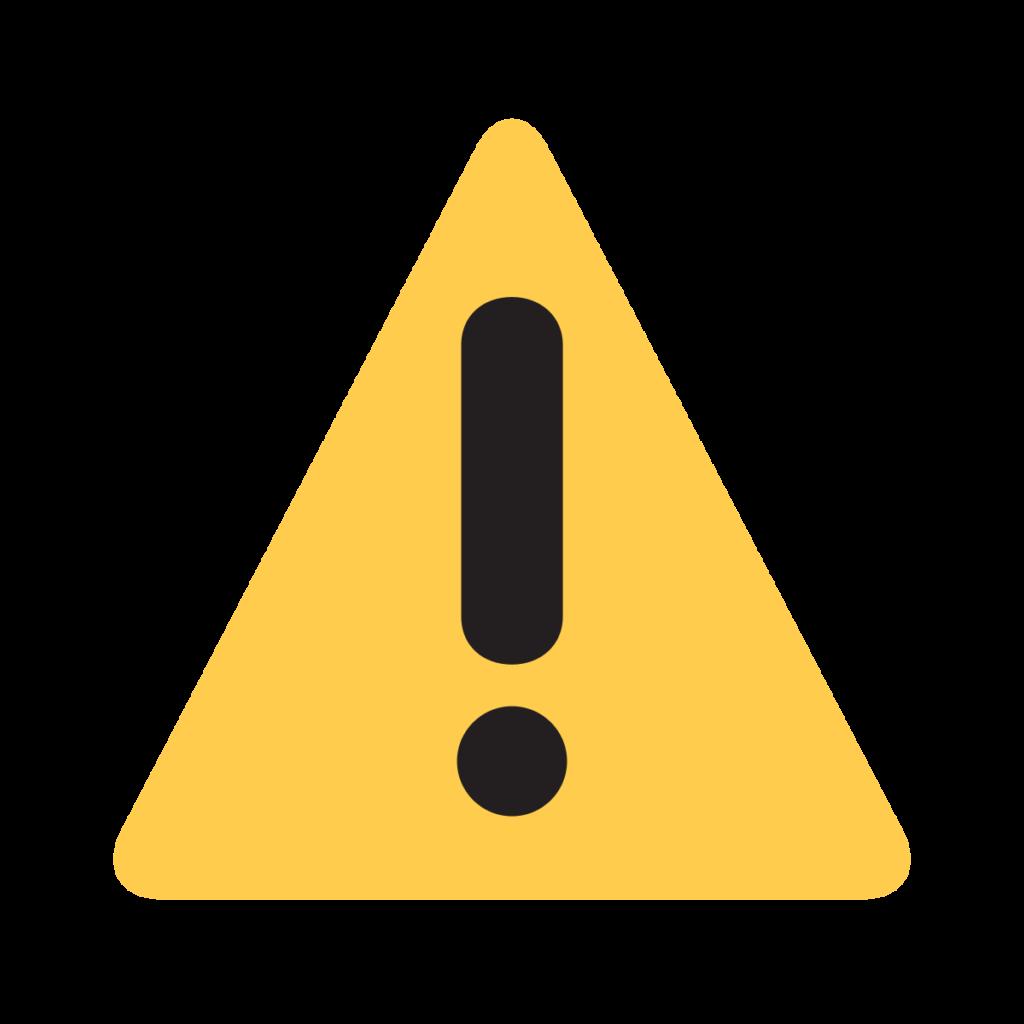Warning Emoji