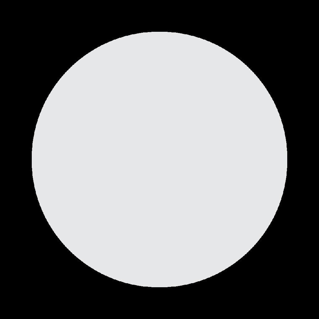 White Circle Emoji